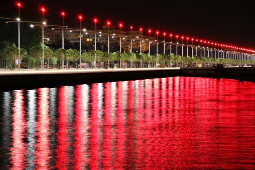 The waterfront in Thessaloniki